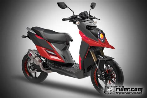 Modification Yamaha Xride 125 by Konsep Modifikasi Yamaha X Ride Ttx Cxrider
