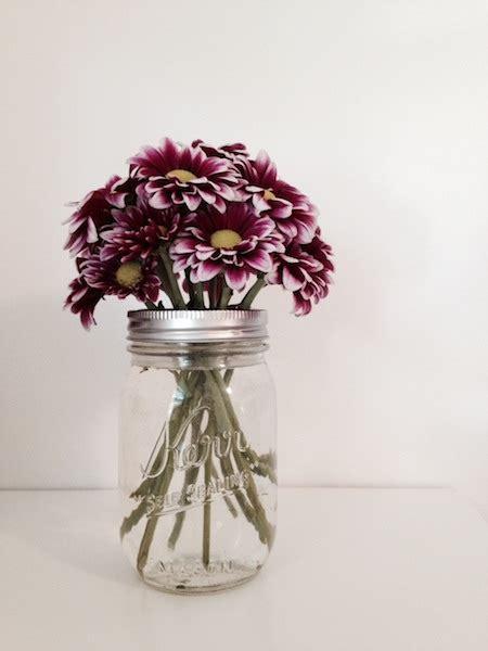 diy mason jar flower frog dollar store crafts