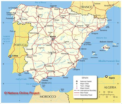 Carte Portugal Espagne by Carte De L Espagne D 233 Couvrrir L Espagne Sous Forme De Carte