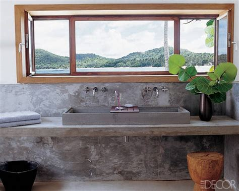 exquisite selection  bathroom sinks  elle decor