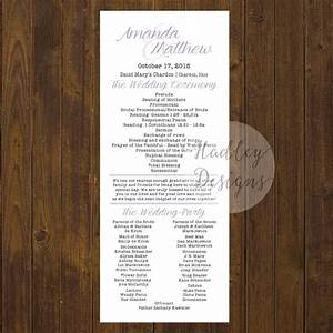 17 best ideas about wedding program examples on pinterest With wedding programs ideas samples