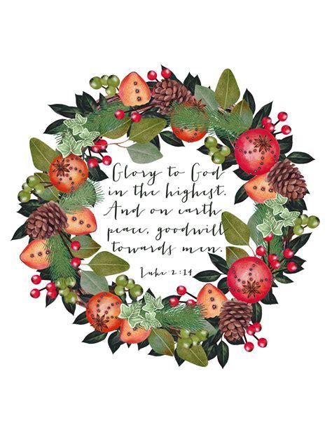 Free Christmas Printable  Luke 2  Hearts & Sharts