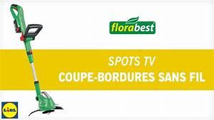 Coupe Bordure Sans Fil : lidl florabest coupe bordures sans fil youtube ~ Dailycaller-alerts.com Idées de Décoration