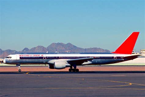 File:Northwest Orient Airlines Boeing 757-251; N504US ...