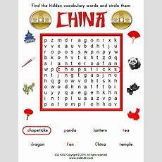 China Worksheets  Activities, Games, And Worksheets For Kids