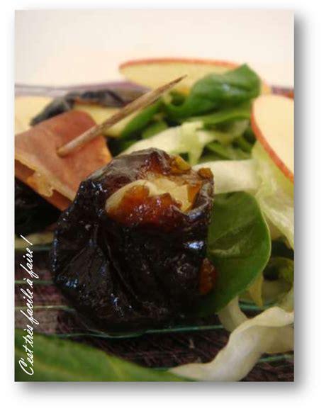 salade d epinards aux pruneaux blogs de cuisine