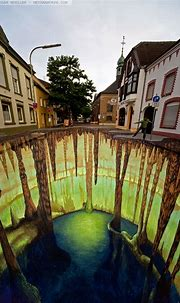 35 Works of 3D Sidewalk Chalk Art That Actually Look REAL ...