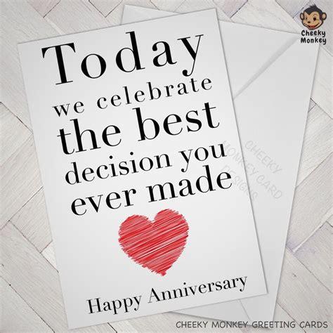 funny anniversary card engagement cards wedding wife husband boy girlfriend love ebay