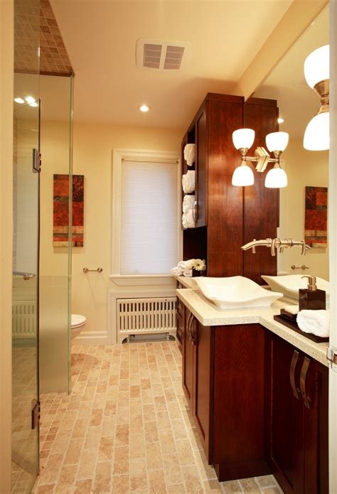 Bathroom Renovations Oakville Ontario by Trafalgar Road Residence Bungalow Bathroom Renovation