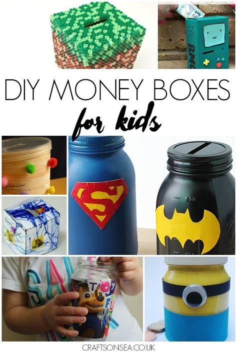 craft ideas for decorations diy money box money box box and craft 6183