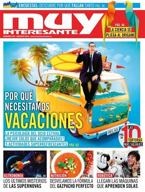Muy Interesante España-Agosto 2016 Magazine - Get your ...
