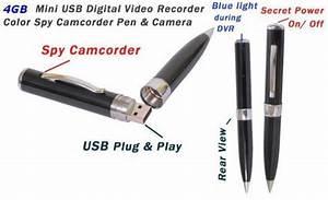 Spy Camera Pen 16gb Camcorder Audio Video Recorder 16gb