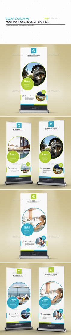 eastern creative multipurpose template zip roll up trade show banner graphics client art
