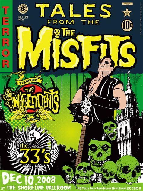 Misfits - Shoreline Ballroom 2008 - Mini Print | Concert ...
