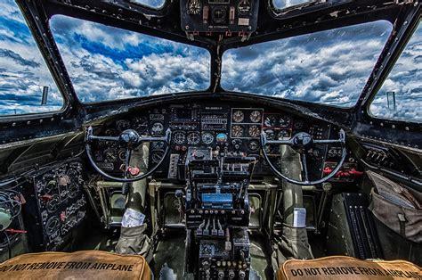 B-17 Cockpit Photograph by Mike Burgquist