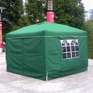 Prix Tonnelle Pas Cher : homdox 3 x 3m tente tonnelle pliante polyester auvent ~ Premium-room.com Idées de Décoration