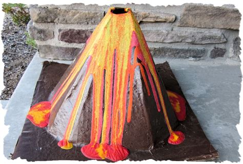 what are lava ls made out of eclectic nut paper mache volcano