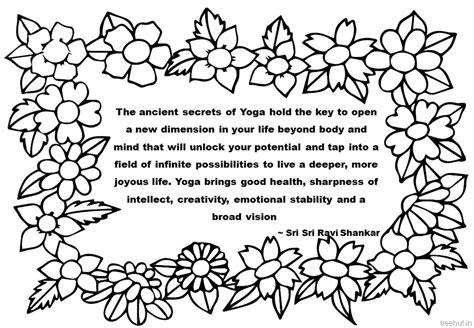 creativity quotes coloring pages  sri sri ravi shankar