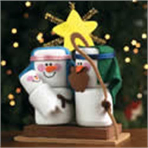 religious christian crafts foam 548 | foam marshmallow nativity