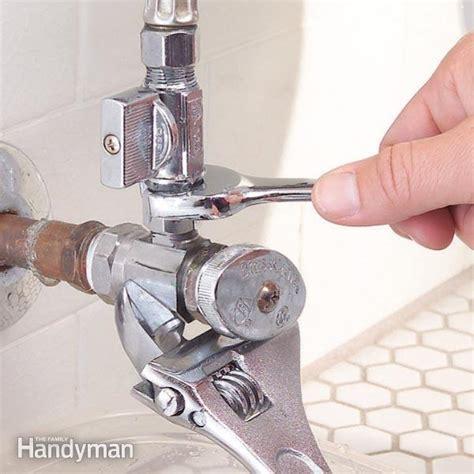 kitchen sink shut valve leaking fix a leaky shutoff with a supply valve piggyback the 9567