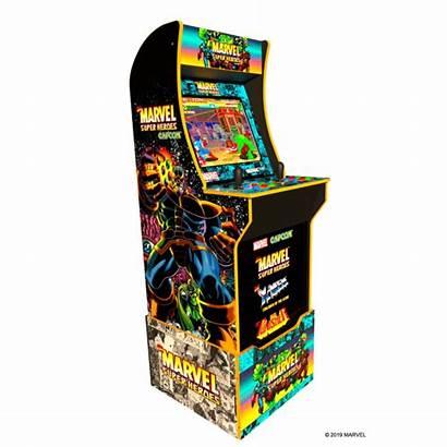 Marvel Heroes Arcade1up Cabinet Arcade Gaming Edition