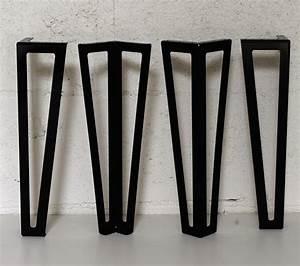 Pied De Table En épingle : pied type hairpin legs pour table basse 40cm ref ~ Dailycaller-alerts.com Idées de Décoration
