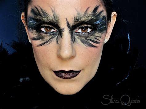 queen black raven makeup tutorial silvia quiros