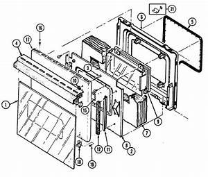 Door Diagram  U0026 Parts List For Model 9895vrv Magic