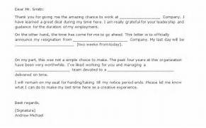Two Weeks Notice Letters Resignation Letter Templates For Formal Two Week Resignation Letter Template Free Resume Templates Resignation Letter Template With 2 Week Notice Weeks Notice Resignation Letter Business Proposal Templated