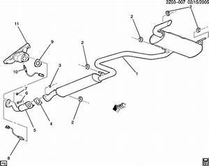 31 2008 Pontiac G6 Exhaust System Diagram