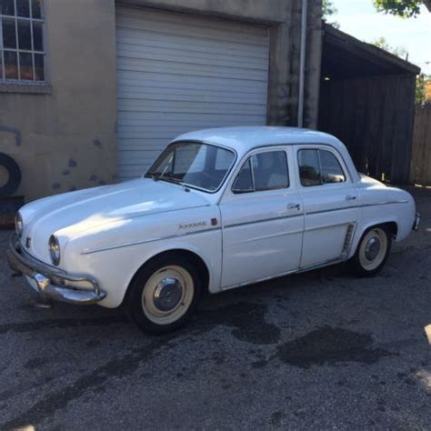 Renault Dauphine For Sale by 1962 Renault Dauphine For Sale Photos Technical
