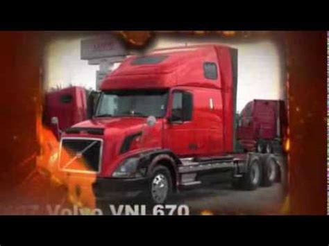 wheeler volvo vnl semi truck  sale youtube