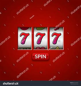Lucky Seven 777 Slot Machine Casino Stock Vector 601295204