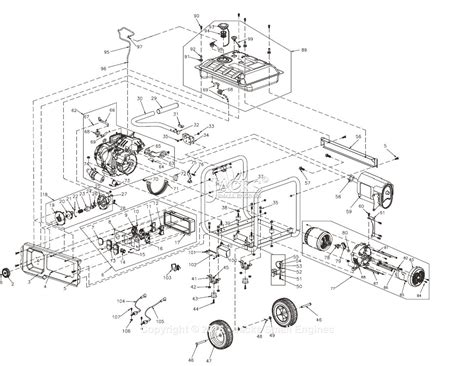 Generac Rse Parts Diagram For Full Assembly