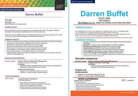 How To Create A Great Cv by Employability Aut