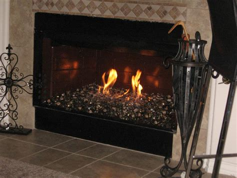 fireplace glass rocks smart indoor glass pit beautiful how does pit