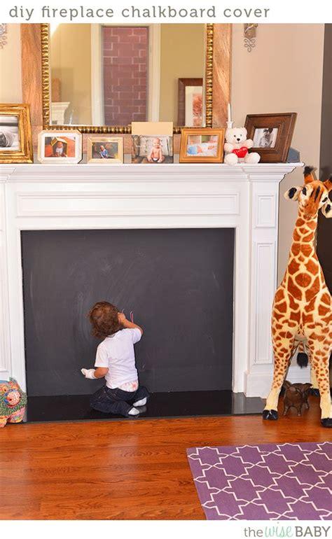 diy fireplace chalkboard cover diy fireplace fireplace