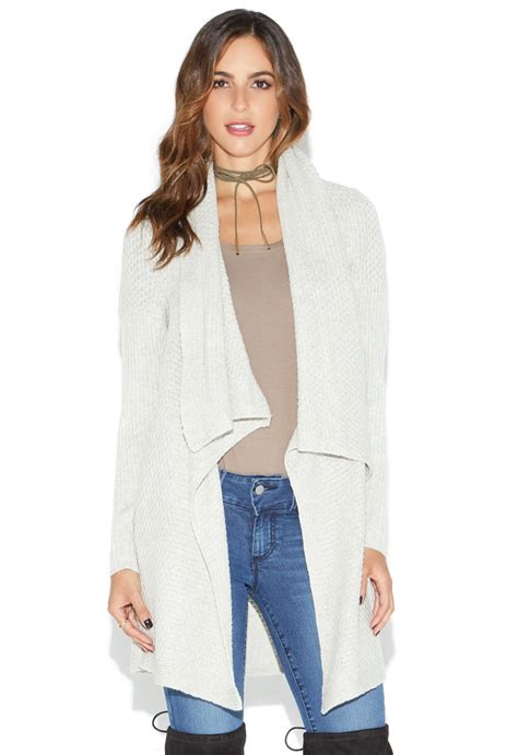 Draped Cardigans For - draped front cardigan shoedazzle