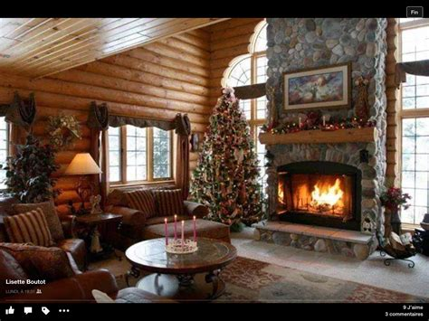 decorations noel interieur chalet cabin sweet cabin