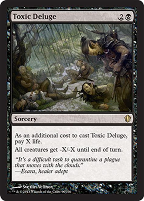 Oloro Commander Deck Spoiler by Toxic Deluge From Commander 2013 Spoiler