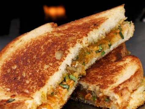 spicy thai grilled peanut butter sandwich recipe cooking
