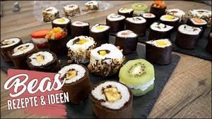 Sushi Selber Machen : obst sushi maki fingerfood s es fr chte sushi selber ~ A.2002-acura-tl-radio.info Haus und Dekorationen