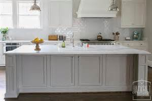 gray kitchen island grey center island with white marble counters