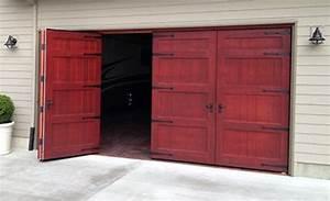 bi fold garage door non warping patented honeycomb With 16 ft wood garage door
