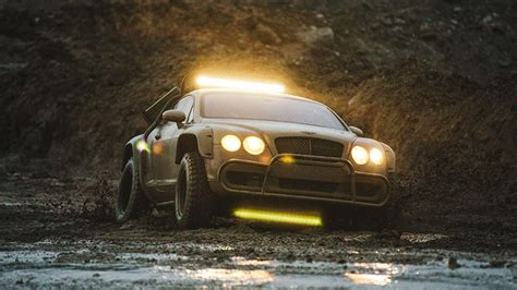 custom dakar inspired  road bentley continental gt sold