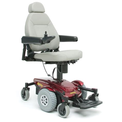 pride jazzy select 6 with power lifting seat powerchair
