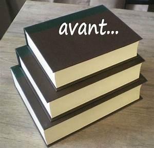 Boite Archive Deco : avant apr s boites livre atelier scaramouche ~ Teatrodelosmanantiales.com Idées de Décoration