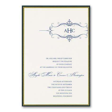 Formal Wedding Invitation Wording (parte One