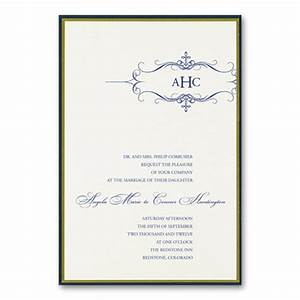 formal wedding invitation wording parte one With examples of formal wedding invitations wording