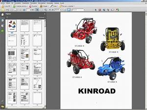 Kinroad 150 Buggy - Service Manual